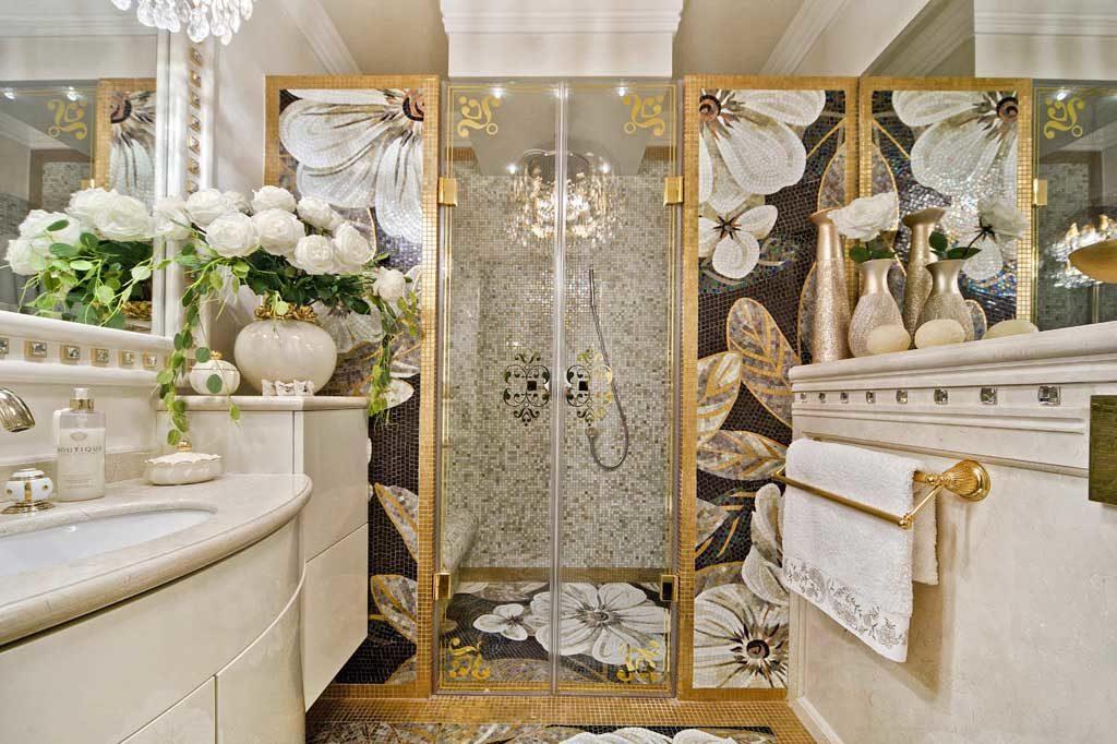 Золотая мозаика - панно