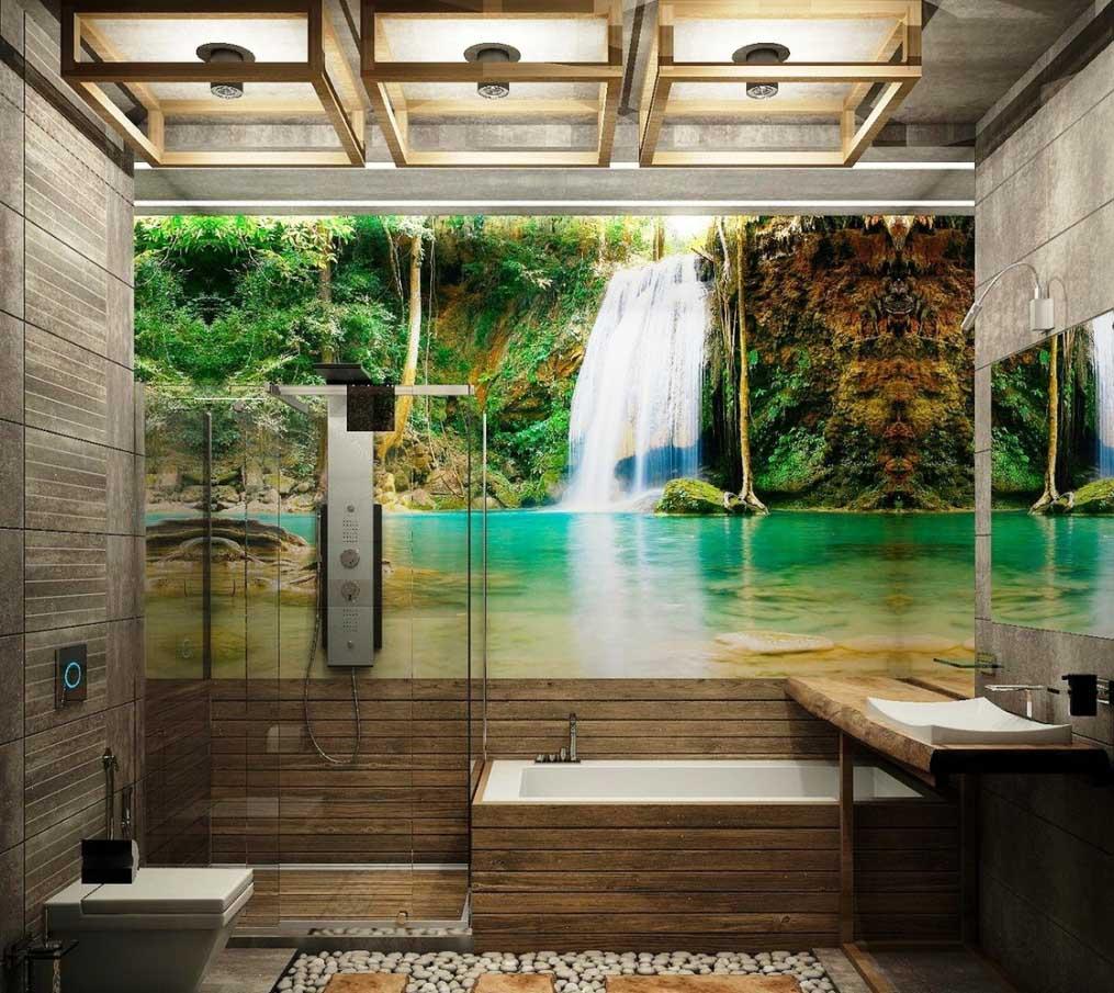 Индивидуальный дизайн ванной