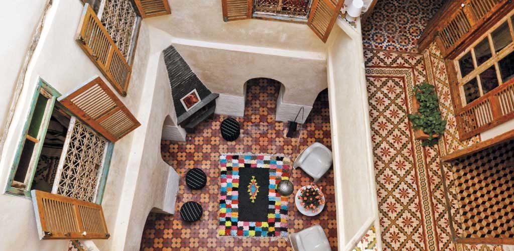 Интерьер в марокканском стиле – история создания. Керамическая плитка, зелидж, майолика, изразцы.