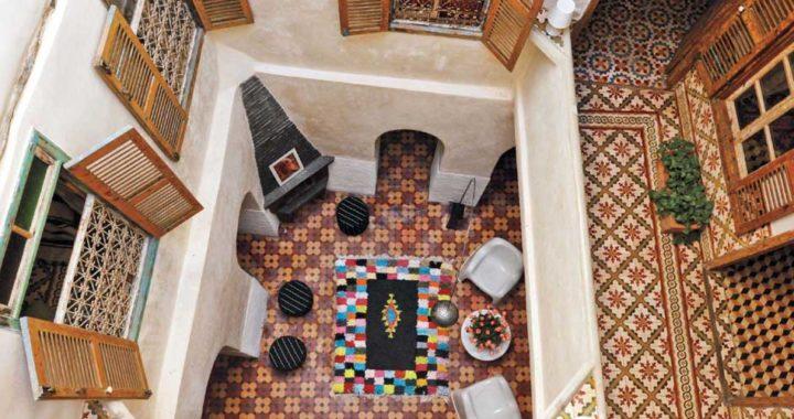 Керамическая плитка в марокканском стиле – история создания. Зелидж, майолика, изразцы.