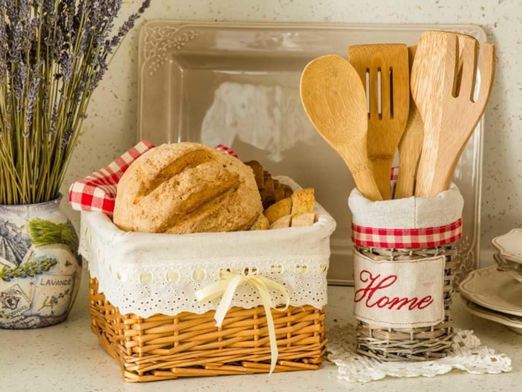 корзинки на кухне