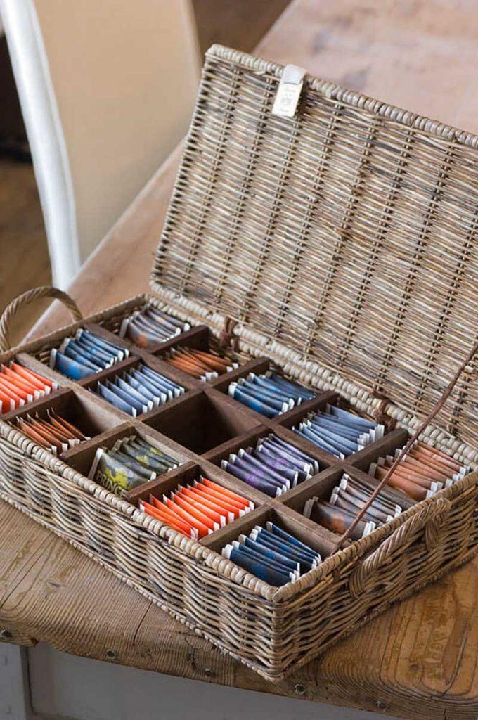 коробка для пакетированного чая