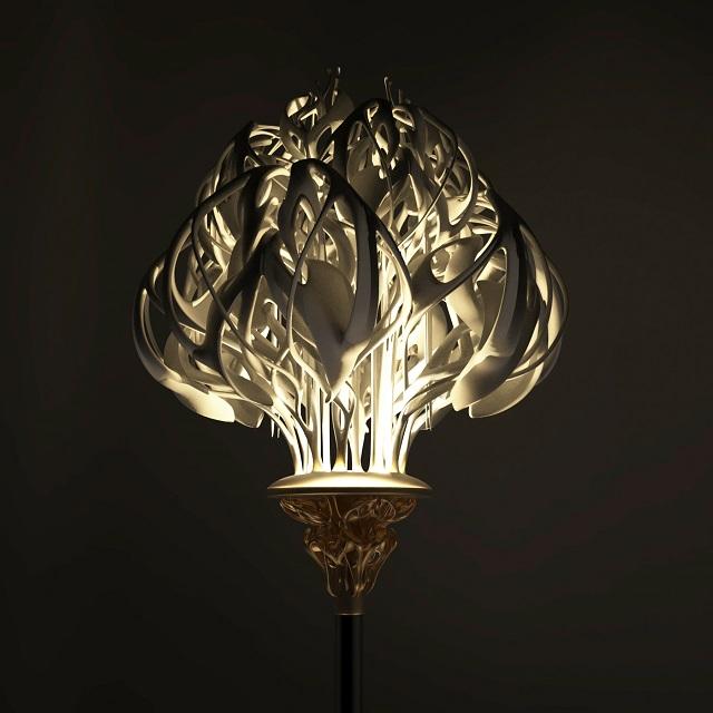 Light of Life Lamp by Fuzhou University