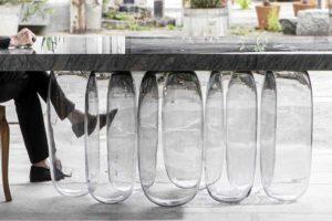 Коллекция мебели «Перевернутая гравитация» от Mathieu Lehanneur
