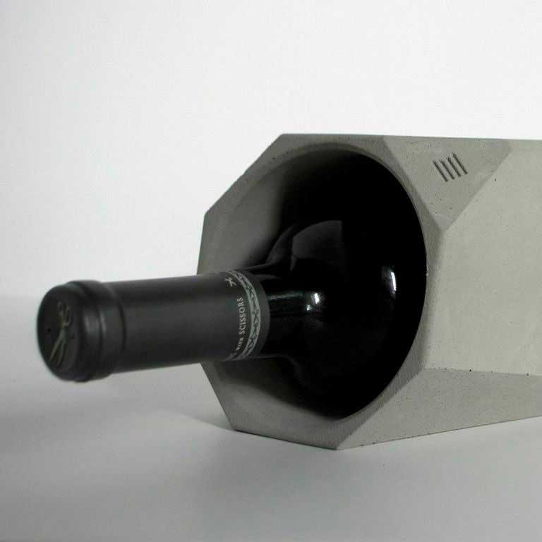 бетонный кулер для вина