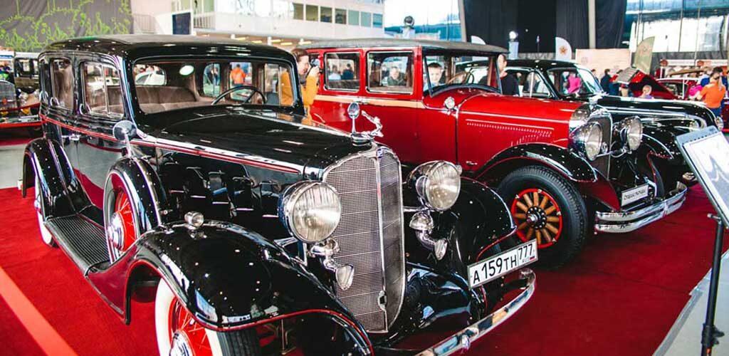 Выставка ретро- автомобилей Олдтаймер-Галерея 2020