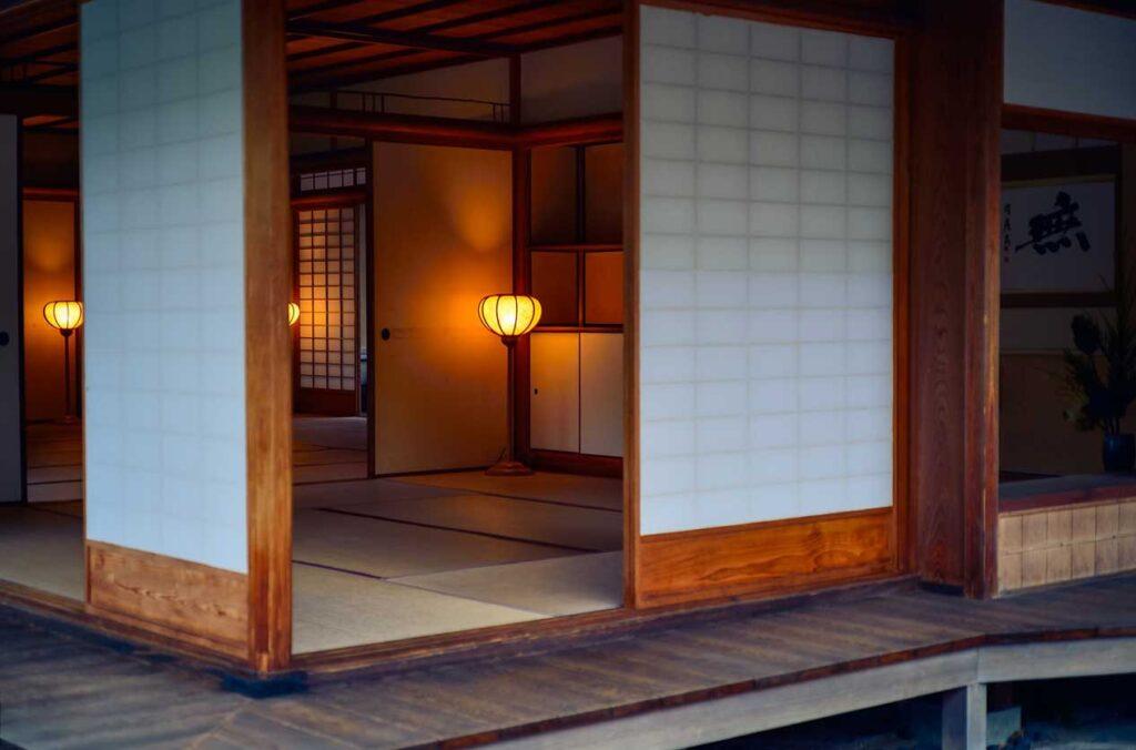 японский интеьер