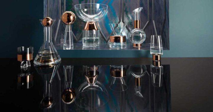 Стекло и медь — вазы от Тома Диксона