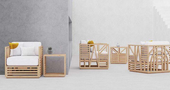 Calamus Duo объединяет графический дизайн и дизайн мебели