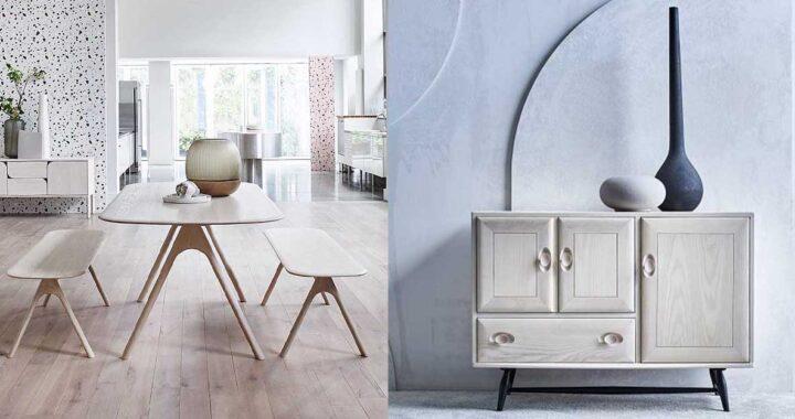 Ercol представляет пять мебельных коллекций к 100-летнему юбилею