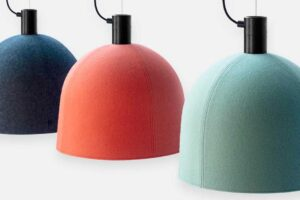 Войлочные светильники Helm Hush