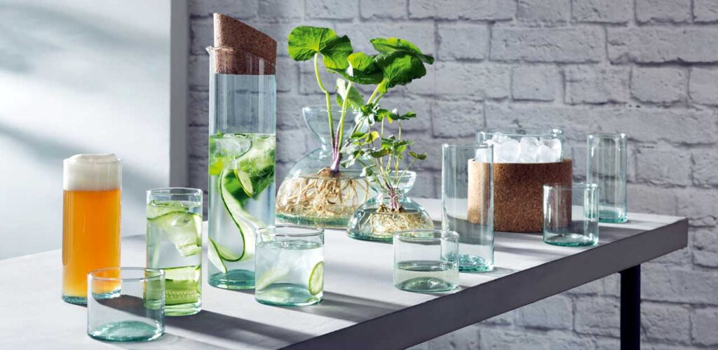 Стеклянная посуда Canopy от LSA International