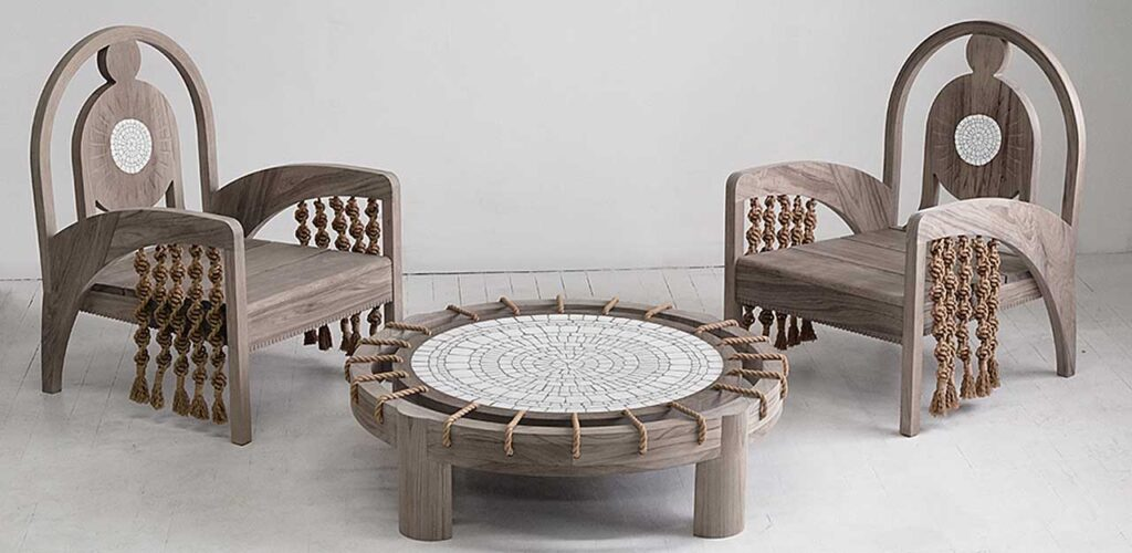 Коллекция уличной мебели от Kelly Behun