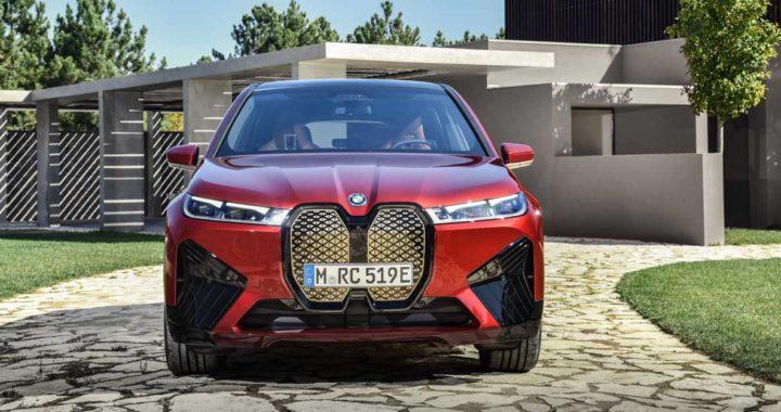 Полностью электрический BMW iX