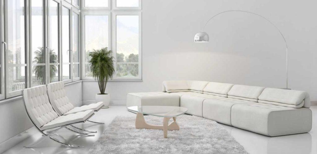 Как правильно использовать белый цвет в интерьере