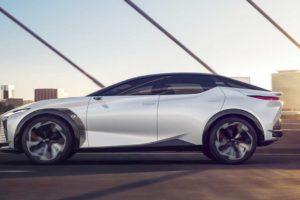 Электромобиль Lexus LF-Z Electrified