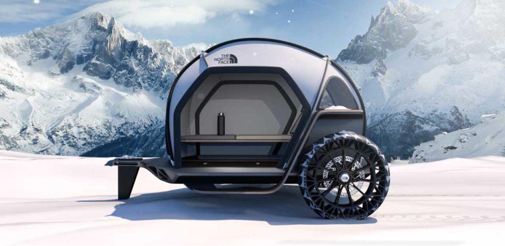 Технологичный всепогодный трейлер от North Face и BMW