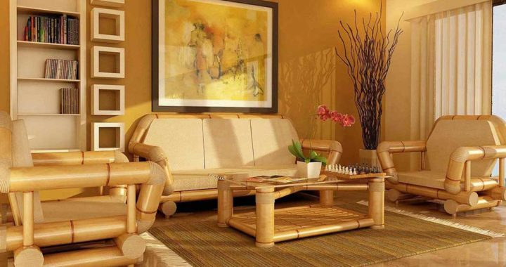 Бамбуковые аксессуары в интерьере